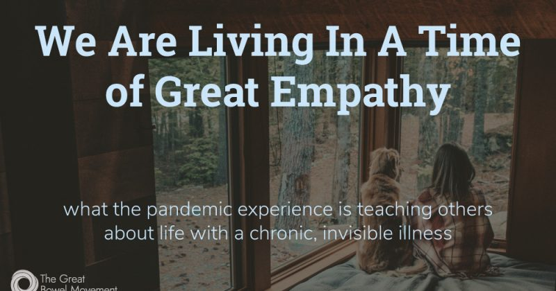 We Are Living In A Time of Great Empathy